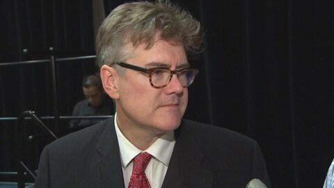 Dougald Lamont, le nouveau chef du Parti libéral du Manitoba