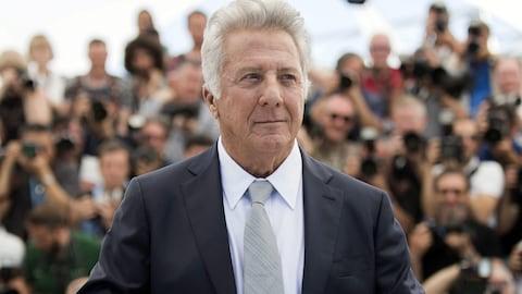 Dustin Hoffman au Festival de Cannes le 21 mai 2017