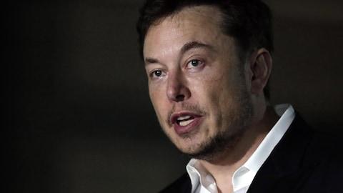 Le PDG de Tesla Elon Musk