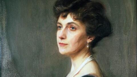 Un portrait d'Elsie Reford