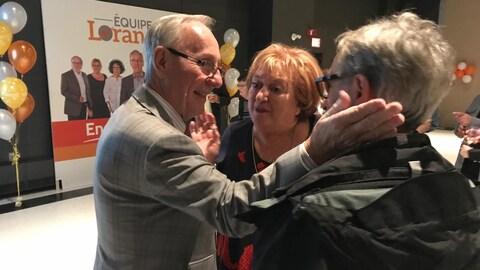 Le maire élu de L'Ancienne-Lorette, Émile Loranger