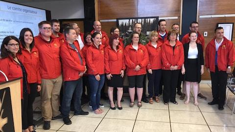 L'équipe derrière le 50e Tour de l'Abitibi.