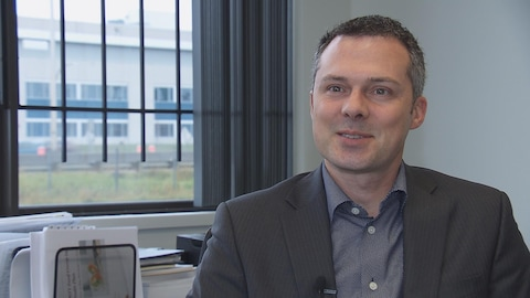 Éric Lefebvre, PDG,  groupe MTY