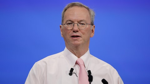 Une photo d'Eric Schmidt