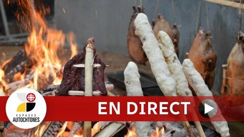 Espaces autochtones en direct : L'alimentation traditionnelle