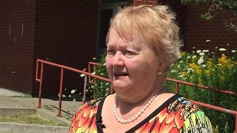 La conseillère du quartier 4 dans la ville du Grand Sudbury, Evelyn Dutrisac.