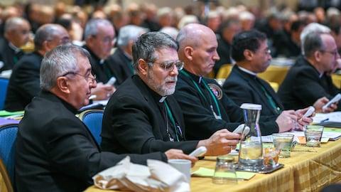 Des évêques américains réunis en assemblée générale