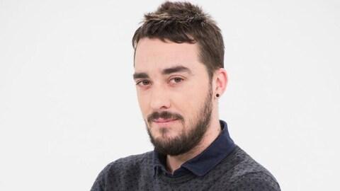 Le journaliste Fabrice Gérard, de la RTBF