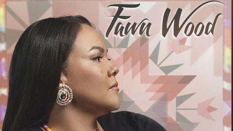 Une chanteuse autochtone sur une couverture d'album.