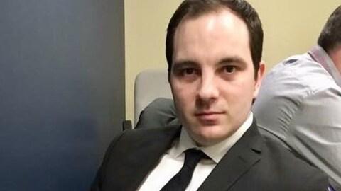 Félix-Antoine Lafleur, le nouveau président du Conseil central de l'Abitibi-Témiscamingue et du Nord-du-Québec (CSN)