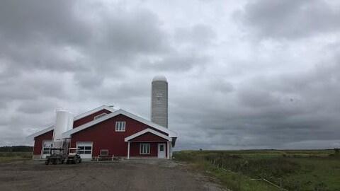 Une ferme au Québec.