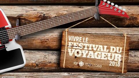 Arrìère-plan du festival du voyageur