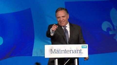 Le premier ministre désigné du Québec François Legault