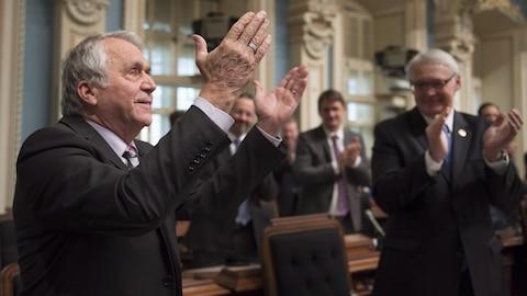 L'Assemblée nationale du Québec a souligné le 40e anniversaire de vie parlementaire du député François Gendron