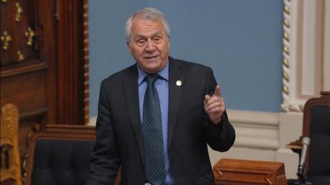 Le discours de départ du député péquiste François Gendron