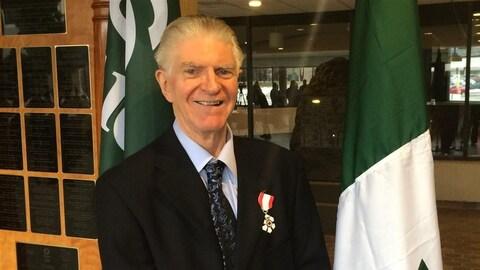 Gaétan Gervais a déjà reçu l'Ordre du Canada en 2014.