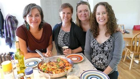 Geneviève et ses amies