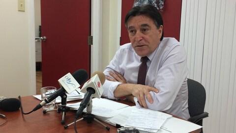 Germain Chevarie, député des Îles-de-la-Madeleine