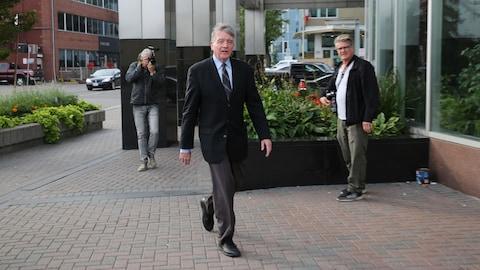 L'un des accusés pour corruption en vertu de la Loi électorale ontarienne, l'organisateur libéral de Sudbury, Gerry Lougheed.