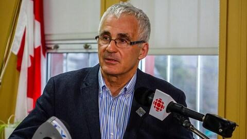 Ghislain Bolduc, député libéral de Mégantic