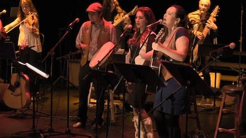 Un groupe de musiciens
