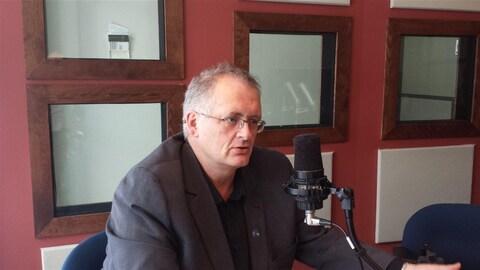 Gilles Chapadeau candidat à l'investiture du Parti québécois dans la circonscription de Rouyn-Noranda-Témiscamingue.
