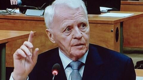 Gilles Cloutier à la Commission Charbonneau