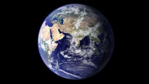 Image de la Terre vue de l'espace