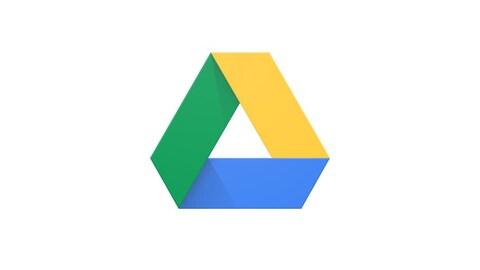 Le logo de Google Drive