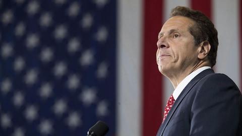 Le gouverneur de l'État de New York, Andrew Cuomo.