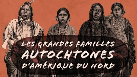 Dessins des familles autochtones