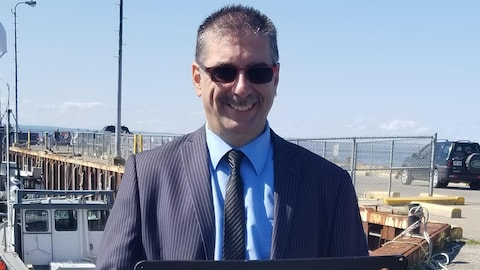 Guy Gallant, candidat indépendant dans la circonscription de Bonaventure.