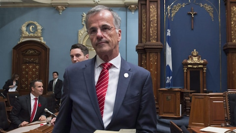 Le député Guy Ouellette.