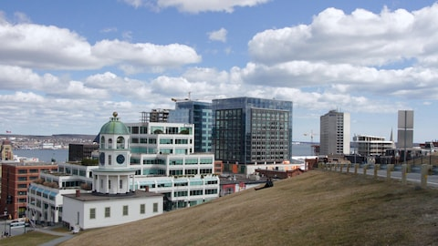 Le centre-ville d'Halifax à partir de la Citadelle