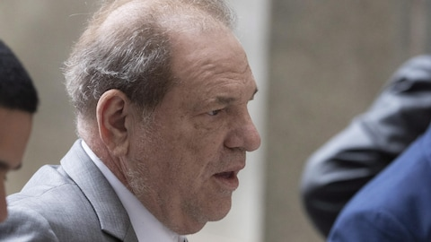 Harvey Weinstein arrivant au tribunal le vendredi 6 décembre 2019 à New York.