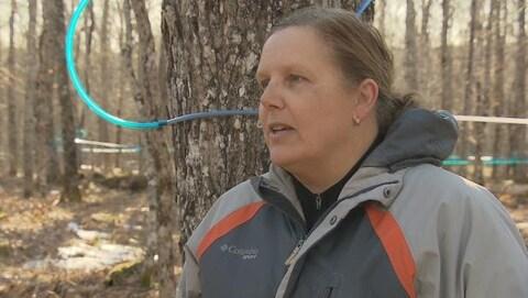 Heather Fraser, la directrice de l'érablière de Moncton.