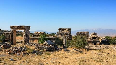 Les ruines de Hiérapolis, en Turquie