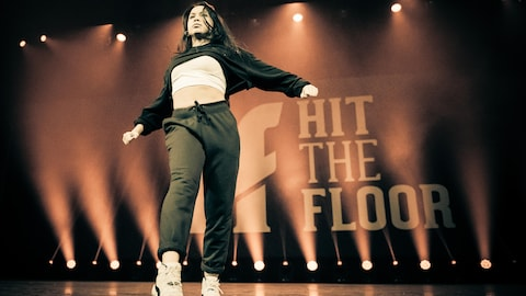 Taliana Noronha Robin, ambassadrice 2018 de l'événement Hit The Floor. Belle danseuse Hip Hop de 17 ans.