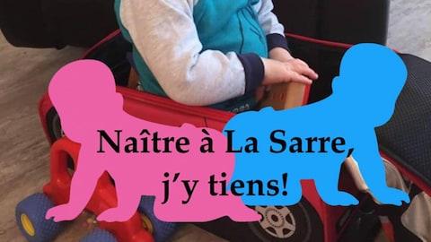 Les photos de profil arborant la mention «Naître à La Sarre, j'y tiens» se multiplient sur Facebook.