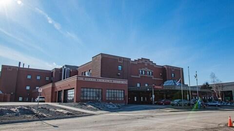 L'Hôpital régional du Cap-Breton vu de l'extérieur