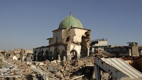 La mosquée Al-Nouri, à Mossoul,