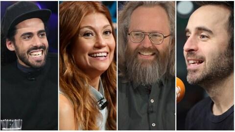 Les quatre humoristes québécois Adib Alkhalidey, Katherine Levac, François Bellefeuille et Louis-José Houde ont été choisi pour participer à une série de monologues comiques sur Netflix.