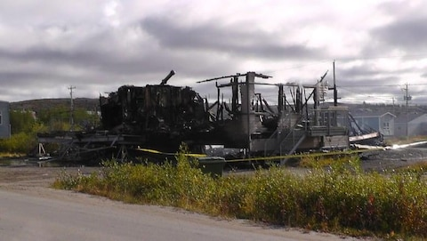 La Sûreté du Québec (SQ) enquête sur un incendie criminel à Kuujjuaq
