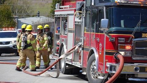 Un incendie s'est déclaré dans la cheminée d'une résidence du quartier Sacré-Coeur à Rimouski