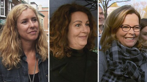 Julie Lemieux, Marie-France Trudel et Anne Guérette obtiennent les allocations les plus élevées.