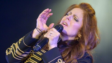 La chanteuse Isabelle Boulay