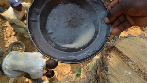 Site d'une mine à ciel ouvert au Congo
