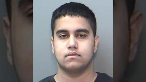 Le suspect Jaspaul Uppal, 21 ans.