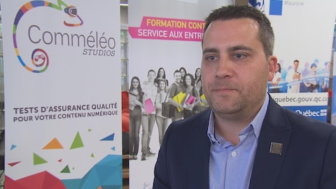 Jean-François Gingras, chef de la direction, Comméléo Studios