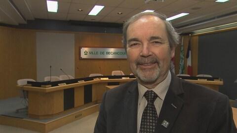 Jean-Guy Dubois, maire de Bécancour